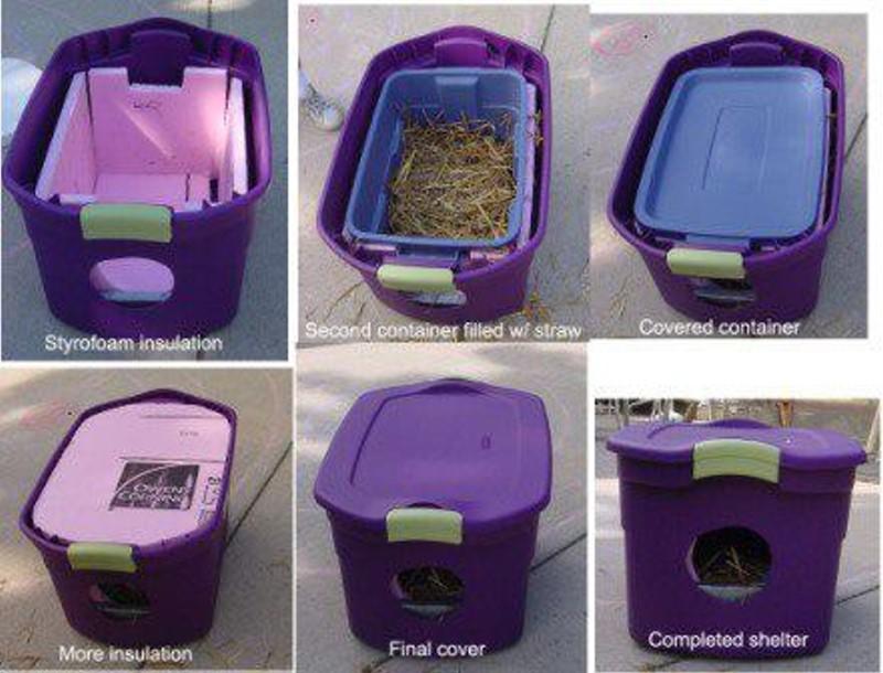 Litter Box Furniture Walmart Possible d'utiliser un revêtement isolant au lieu de la paille entre ...