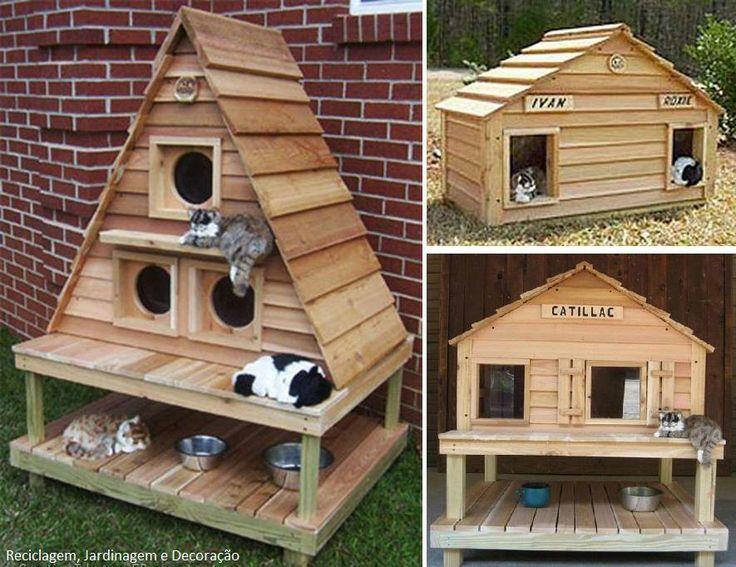 delicieux maison exterieur pour chat 8 abri pour chat. Black Bedroom Furniture Sets. Home Design Ideas
